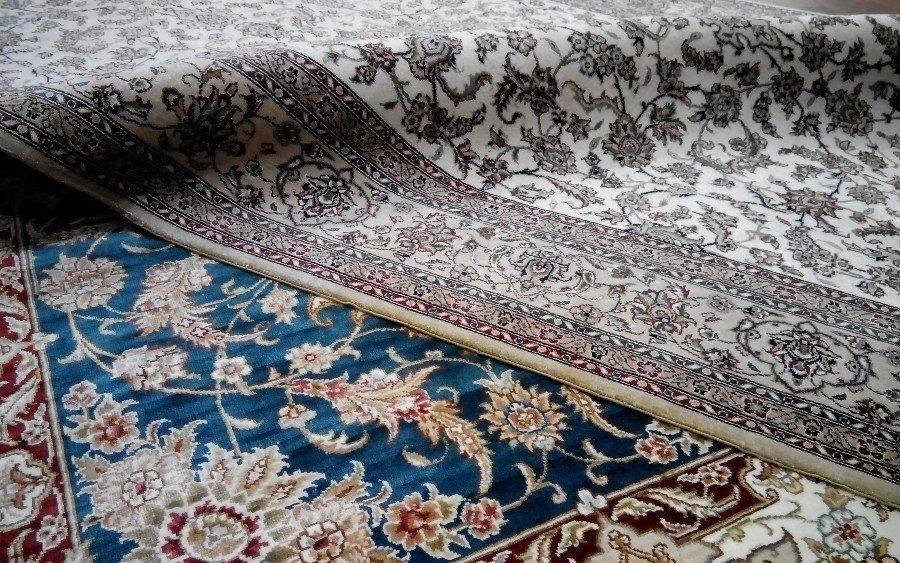 Химчистка шелковых ковров в СПб